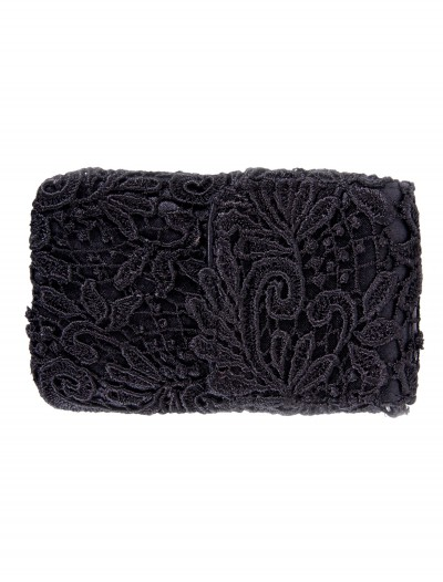 Black Lace Cell Phone Bag with Chain, halloween costume (Black Lace Cell Phone Bag with Chain)