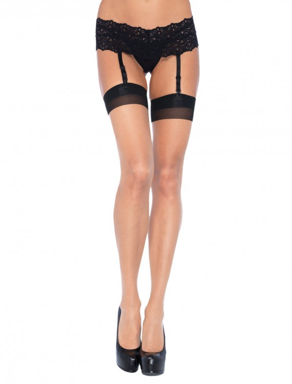 Black/Nude Thigh Highs, halloween costume (Black/Nude Thigh Highs)