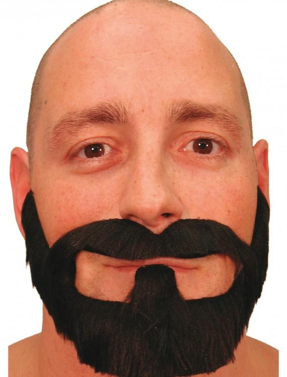 Black Playoff Beard, halloween costume (Black Playoff Beard)