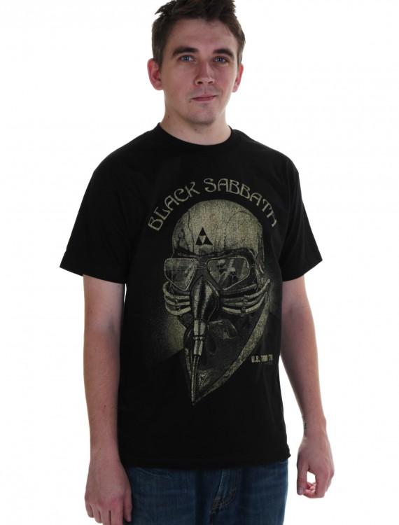 Black Sabbath 78 US Tour T-Shirt, halloween costume (Black Sabbath 78 US Tour T-Shirt)