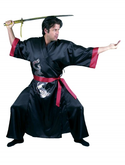 Black Samurai Adult Costume, halloween costume (Black Samurai Adult Costume)