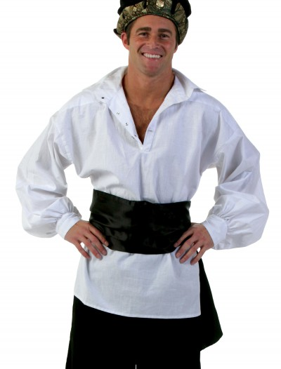 Black Satin Sash, halloween costume (Black Satin Sash)