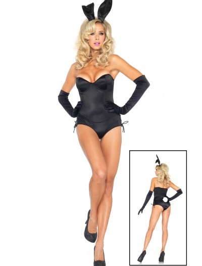 Black Sexy Bunny Costume, halloween costume (Black Sexy Bunny Costume)
