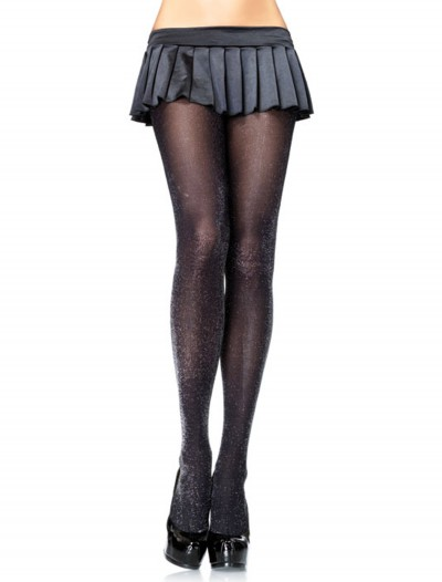 Black / Silver Sparkle Tights, halloween costume (Black / Silver Sparkle Tights)