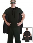 Black Superhero Cape, halloween costume (Black Superhero Cape)