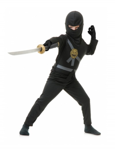 Black Toddler Ninja Costume, halloween costume (Black Toddler Ninja Costume)