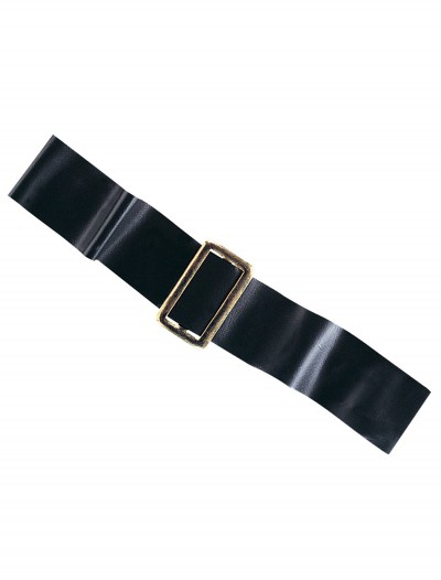 Black Vinyl 2 inch Belt, halloween costume (Black Vinyl 2 inch Belt)