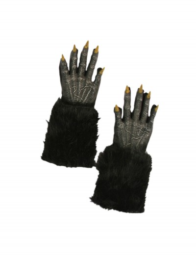 Black Werewolf Gloves, halloween costume (Black Werewolf Gloves)
