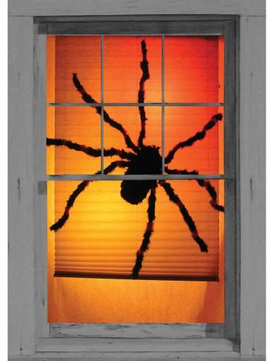 Black Widow Spider Window Cling, halloween costume (Black Widow Spider Window Cling)