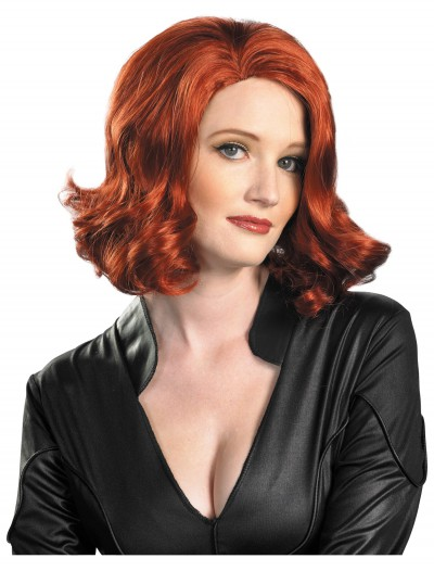 Black Widow Wig, halloween costume (Black Widow Wig)