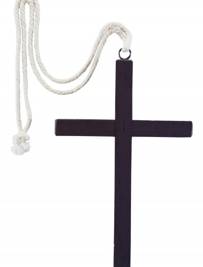 Black Wood Monk Cross, halloween costume (Black Wood Monk Cross)