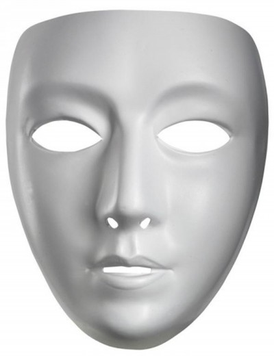 Blank Female Mask, halloween costume (Blank Female Mask)