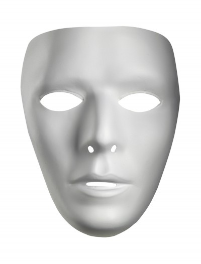 Blank Male Mask, halloween costume (Blank Male Mask)