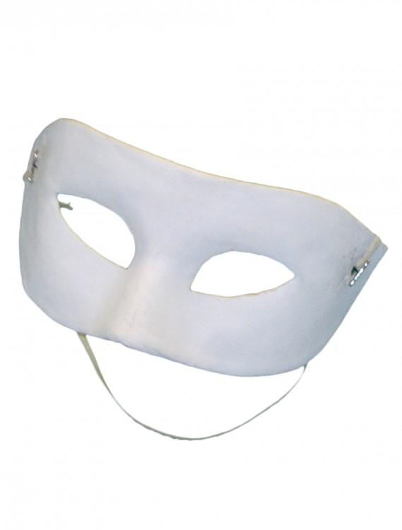 Blank White Eye Mask, halloween costume (Blank White Eye Mask)