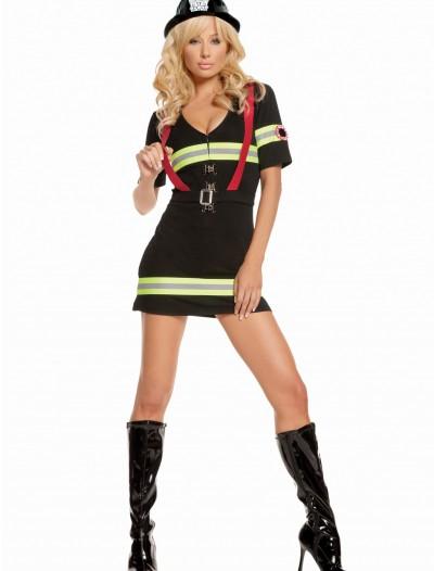 Blazin Hot Firefighter Costume, halloween costume (Blazin Hot Firefighter Costume)