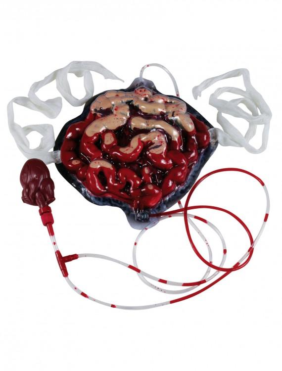Bleeding Intestines, halloween costume (Bleeding Intestines)