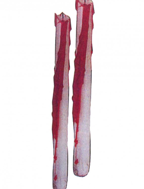 Bleeding Taper Candles, halloween costume (Bleeding Taper Candles)