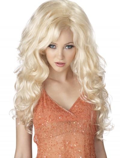 Blonde Bombshell Wig, halloween costume (Blonde Bombshell Wig)
