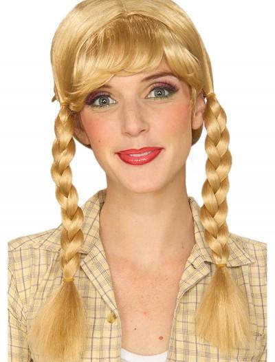 Blonde Braided Wig, halloween costume (Blonde Braided Wig)