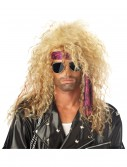 Blonde Heavy Metal Wig, halloween costume (Blonde Heavy Metal Wig)