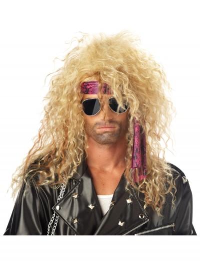 Blonde Heavy Metal Wig, halloween costume (Blonde Heavy Metal Wig)