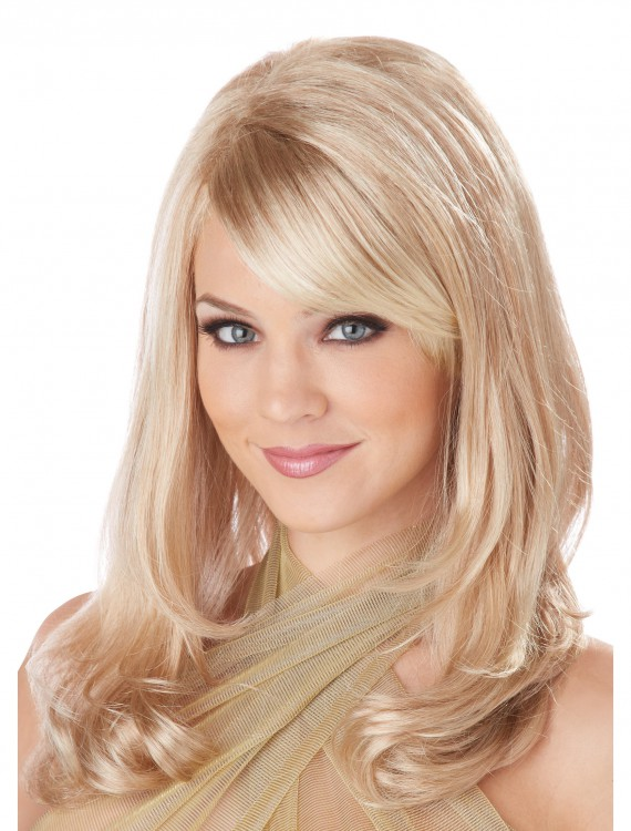 Blonde Lush Layers Wig, halloween costume (Blonde Lush Layers Wig)