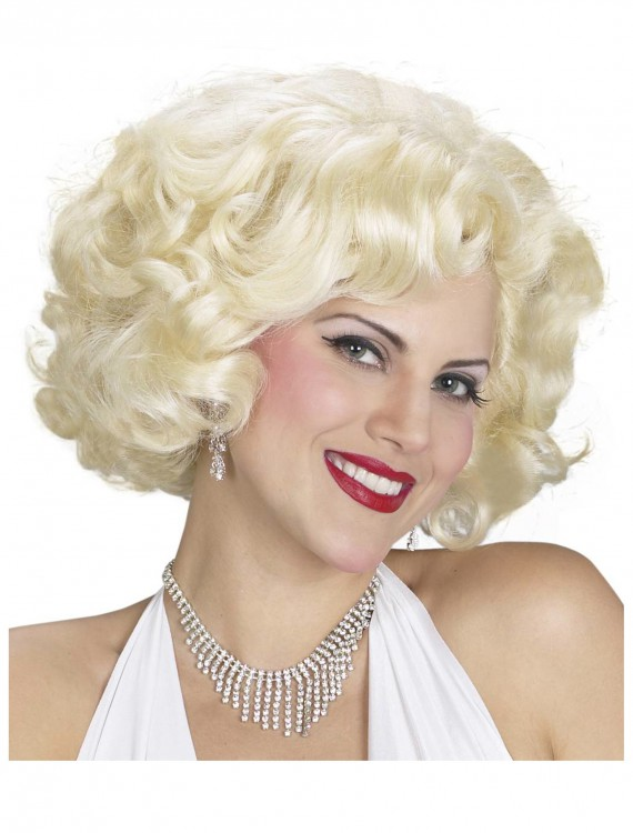 Blonde Marilyn Monroe Wig, halloween costume (Blonde Marilyn Monroe Wig)