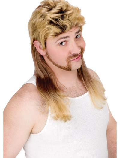 Blonde Mullet Wig, halloween costume (Blonde Mullet Wig)