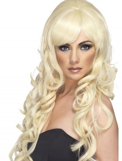 Blonde Pop Starlet Wig, halloween costume (Blonde Pop Starlet Wig)