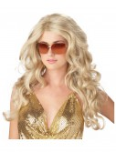 Blonde Supermodel Wig, halloween costume (Blonde Supermodel Wig)