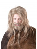Blonde Viking Wig, Beard and Mustache, halloween costume (Blonde Viking Wig, Beard and Mustache)