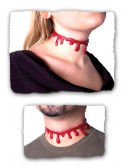 Blood Dripping Necklace, halloween costume (Blood Dripping Necklace)