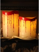 Bloody Dripping Candle Set, halloween costume (Bloody Dripping Candle Set)