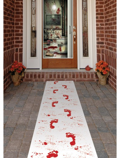 Bloody Footprints Runner, halloween costume (Bloody Footprints Runner)