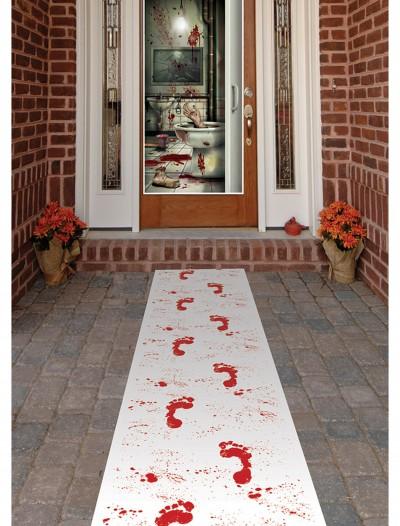 Bloody Footprints Runner, halloween costume (Bloody Footprints Runner)