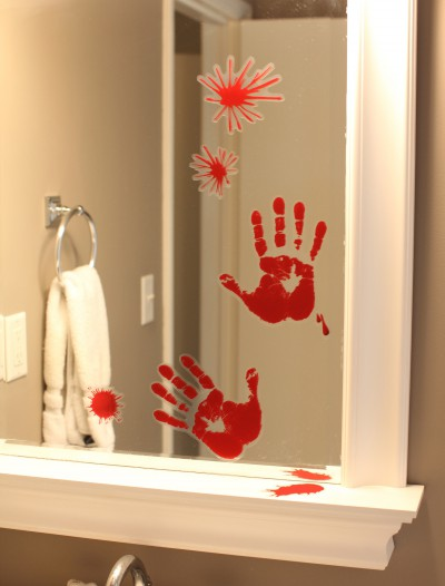 Bloody Handprint, halloween costume (Bloody Handprint)