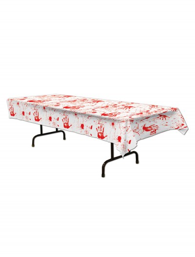 Bloody Handprints Tablecover, halloween costume (Bloody Handprints Tablecover)