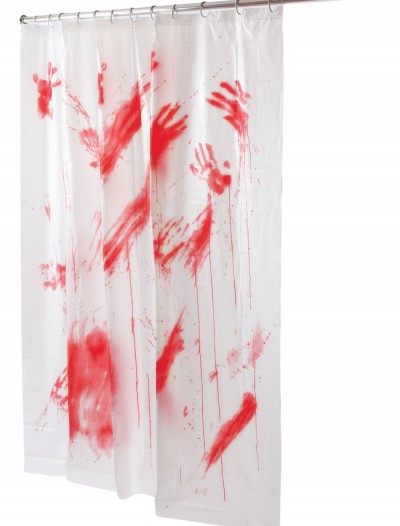 Bloody Shower Curtain, halloween costume (Bloody Shower Curtain)
