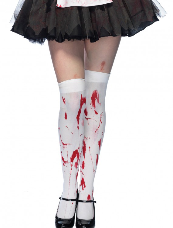 Bloody Thigh High Stockings, halloween costume (Bloody Thigh High Stockings)