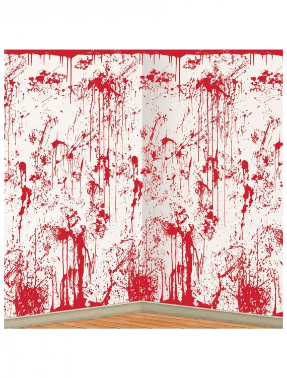 Bloody Wall Backdrop, halloween costume (Bloody Wall Backdrop)