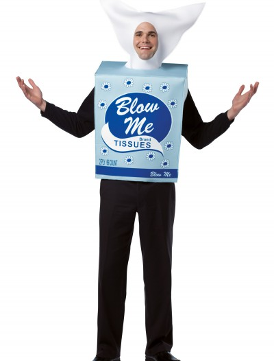 Blow Me Tissues Costume, halloween costume (Blow Me Tissues Costume)