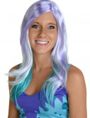 Blue and Purple Monster Wig, halloween costume (Blue and Purple Monster Wig)