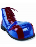 Blue and Red Clown Shoes, halloween costume (Blue and Red Clown Shoes)