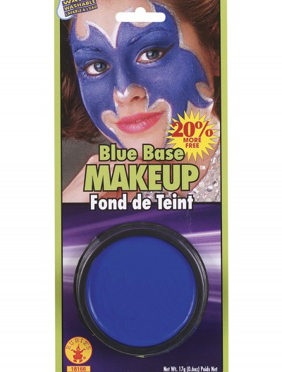Blue Base Makeup, halloween costume (Blue Base Makeup)