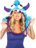 Blue Bert Furry Monster Hood, halloween costume (Blue Bert Furry Monster Hood)