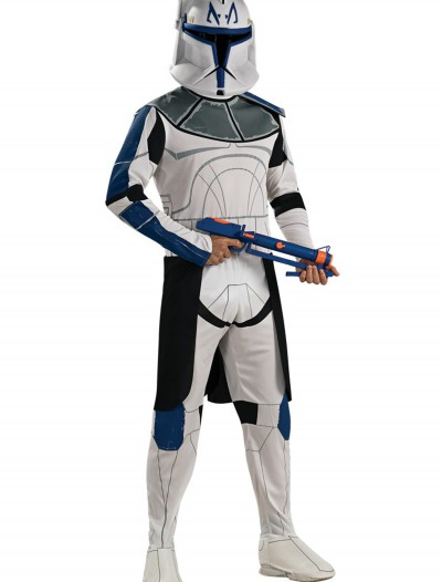 Blue Clone Trooper Rex Adult Costume, halloween costume (Blue Clone Trooper Rex Adult Costume)