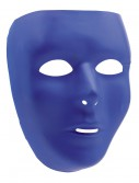 Blue Full Face Mask, halloween costume (Blue Full Face Mask)