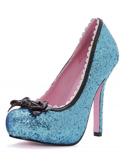 Blue Glitter High Heels, halloween costume (Blue Glitter High Heels)