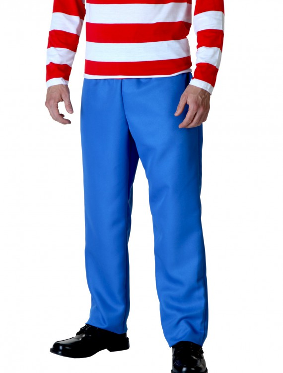 Blue Pants, halloween costume (Blue Pants)