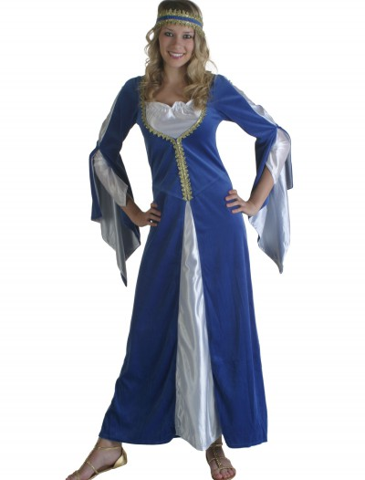 Blue Regal Princess Renaissance Costume, halloween costume (Blue Regal Princess Renaissance Costume)